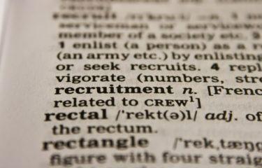 rekrutacja, słownik