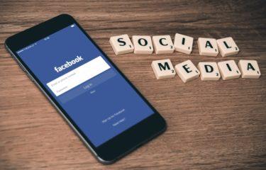 telefon, social media, facebook