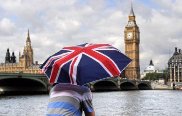 Anglia, Big Ben, flaga
